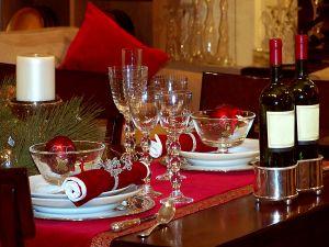 Wein und Weihnachten